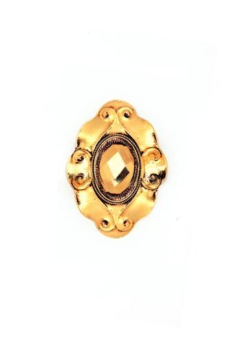 Paulini gold Rezeki Brooch PA011AC58DBTMY_1