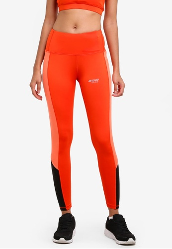 2GO orange Running Tights 2G729AA0S5UQMY_1