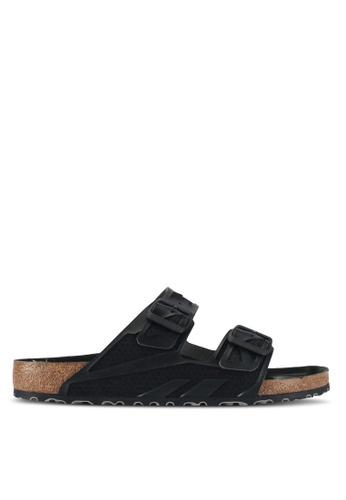 Birkenstock black Arizona Rubberized Sandals F6E57SHBD3131CGS_1
