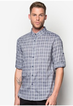 Checked Long Sleeve Shirt