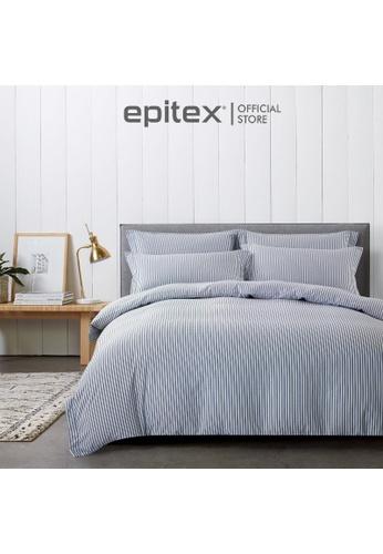 Epitex Epitex Urutora EC7802-1 1400TC Stonewashed Yarn-Dyed Bedsheet E2411HLCDFCD26GS_1