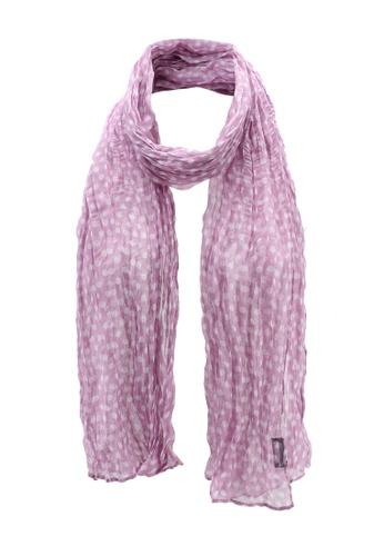 OVS 粉紅色 質感圍巾 DF3C2AC6628E90GS_1