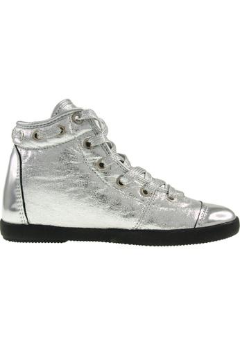 Maxstar silver Maxstar Women's 020 Hidden Heel PU High Top Casual Shoes US Women Size MA164SH91PUQSG_1