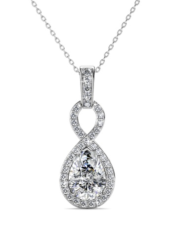 Her Jewellery Medallion Pendant -  Made with premium grade crystals from Austria HE210AC0GRBISG_1
