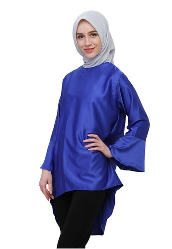 Titan's Wardrobe Bell Top Sapphire - Blue Electric