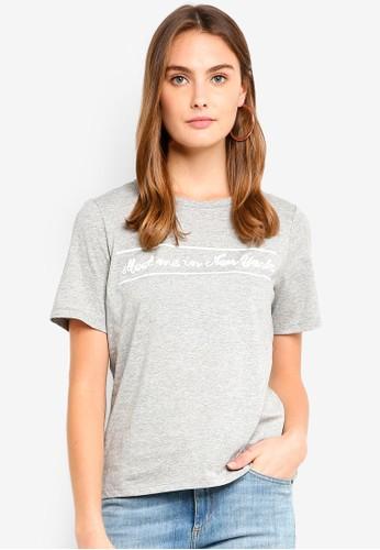 ESPRIT grey Short Sleeve T-Shirt 00783AAE92782DGS_1