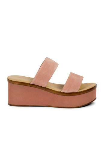 Andre pink ADCANDICE Leather Mules AN324SH31GXCSG_1
