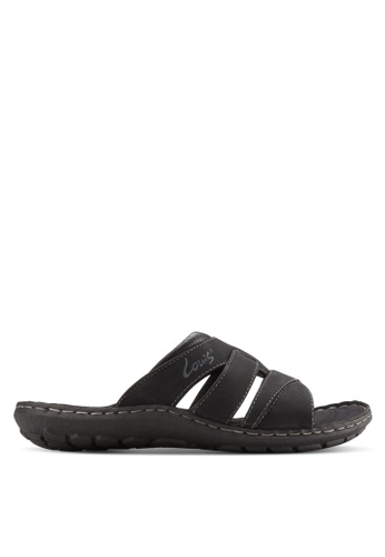 Louis Cuppers black Casual Sandals LO977SH48BAHMY_1