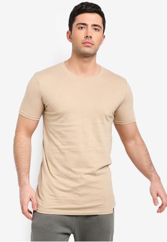 Buy Factorie Longline T Shirt Online on ZALORA Singapore fad5d15e111d