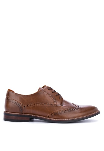 Call It Spring brown Bollate Brogue Shoes 0AFCFSHD6276B8GS_1