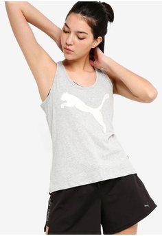 55170ee068e62e Puma grey Sportstyle Core Athletic Tank Top D7B29AAFE64BCCGS 1