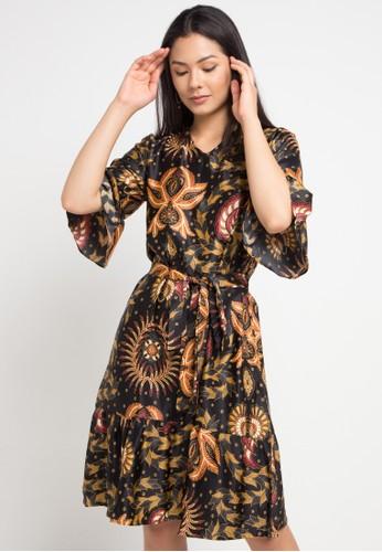 Anakara multi Flaria Dress Esfero 31A41AAFDD0AF0GS_1