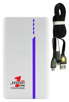​J1 13000mah Power Bank With FREE Bavin 2-in-1 USB Data Cable with Lightning
