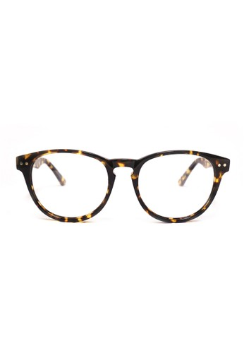 復古梨形鏡框│玳瑁色眼鏡│P1053-C2, esprit 工作飾品配件, 眼鏡