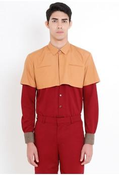 [PRE-ORDER] Cropped Dress Shirt