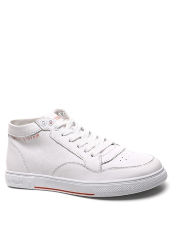 Twenty Eight Shoes High Top Smart Causal Leather Sneakers RX6689 BEA06SH38F9077GS_1