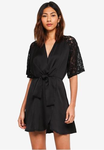 TFNC black Aziza Dress 59AE4AA38FEFCBGS_1