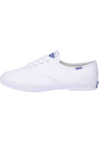 paperplanes white SN-111 Women Fashion Casual Lace Up Canvas Sneakers Shoes PA110SH59OZOHK_1