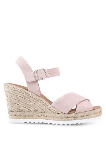 Carvela KG pink Koy Wedge Sandals 6BC08SH5610CBCGS_1