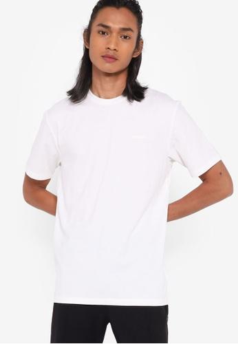 Guess white Logo Detail T-Shirt C9B72AA2699DF6GS_1