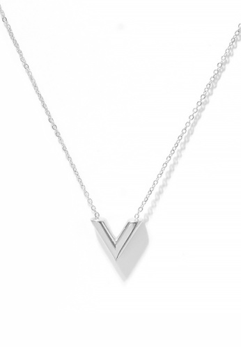 CELOVIS silver CELOVIS - Victoria V-Shape Necklace in Silver 7245CAC37548E6GS_1