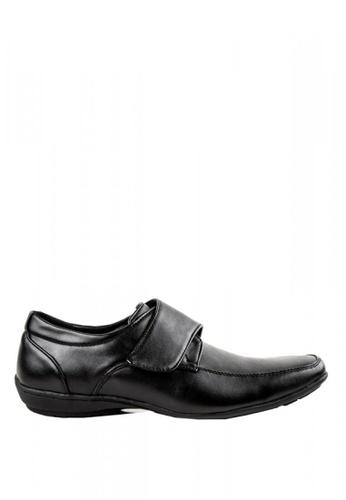 Otto black Velcro Strap Shoes 23E66SHF8E4D22GS_1