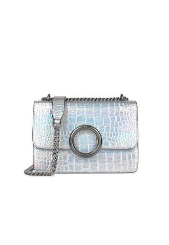 Tous silver Small Iridescent Audree Wild Crossbody Bag A5940AC4715E29GS_1
