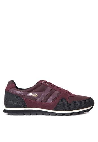 Gola red Ridgerunner II Sneakers GO513SH53TQOPH_1