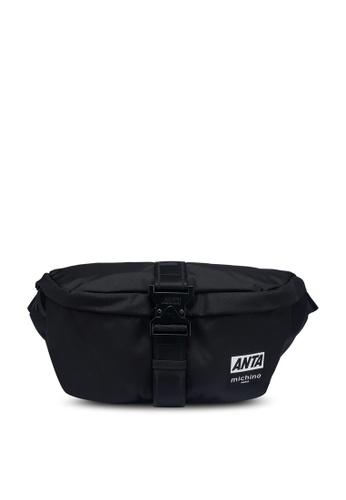 Anta black Anta Hook 2.0 Chest Bag E12F0AC7F502DFGS_1