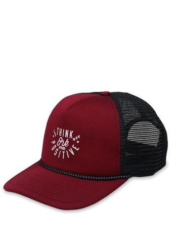 OR-K689 black and red OR-K689 Cap Truplus / Maroon Black B0D2EAC63AA069GS_1