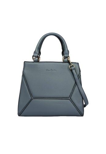 Pierre Cardin blue Pierre Cardin Premium Medium Top Handle Bag 46A73AC8B152E3GS_1
