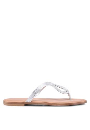 ALDO silver Orietta Sandals 661D2SH57564F9GS_1