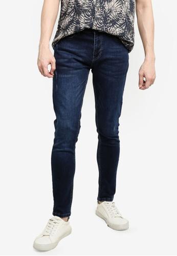 KOTON blue Super Skinny Jeans D0218AA8407EE7GS_1