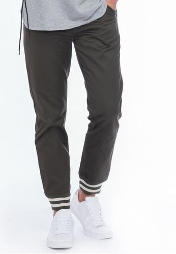 Alpha Style green Ackerley Jogger Pants AL461AA0FVCJSG_1