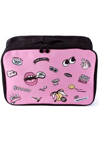 Dazz pink Travel Organiser - Pink DA408AC0RAFHMY_1