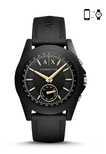 Armani Exchange black Armani Exchange Drexler Black Smart Watch AXT1004 AR162AC0S035MY_1