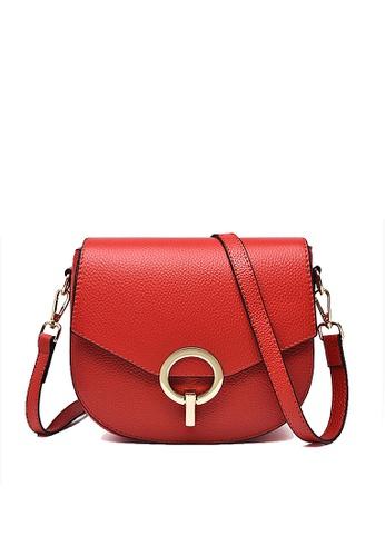 Twenty Eight Shoes red VANSA Top Layer Cowhide Crossbody Bag VBW-Cb1955 12403ACEC99F05GS_1