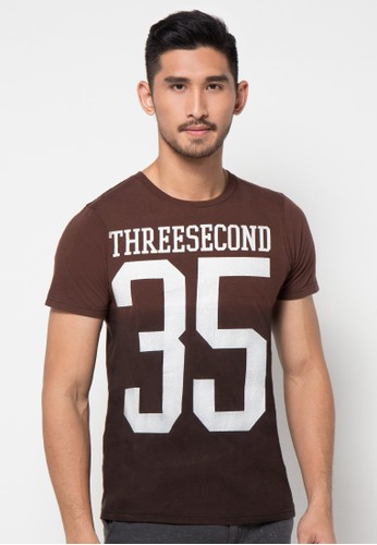 Text Printed Basic Tshirt