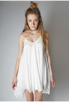 The Isabella Perfect White Dress