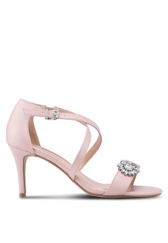 Dorothy Perkins pink Blush Bliss Diamante Heels DA6FBSH4A6BDAFGS_1