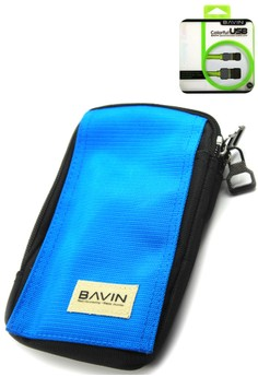 Outdoor Sport Running Big Pouch Mobile Cellphone Bag + FREE USB Cable for Android