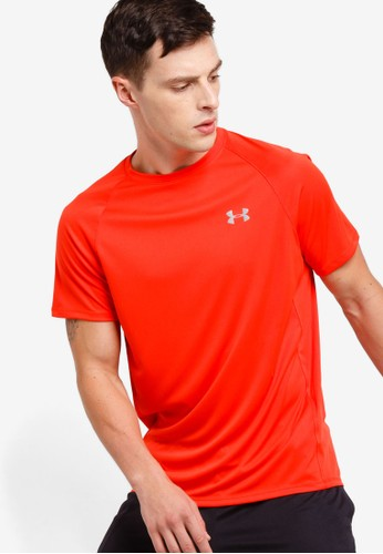 Under Armour red Speed Stride Short Sleeve Tee DB6F9AAD6094D0GS_1