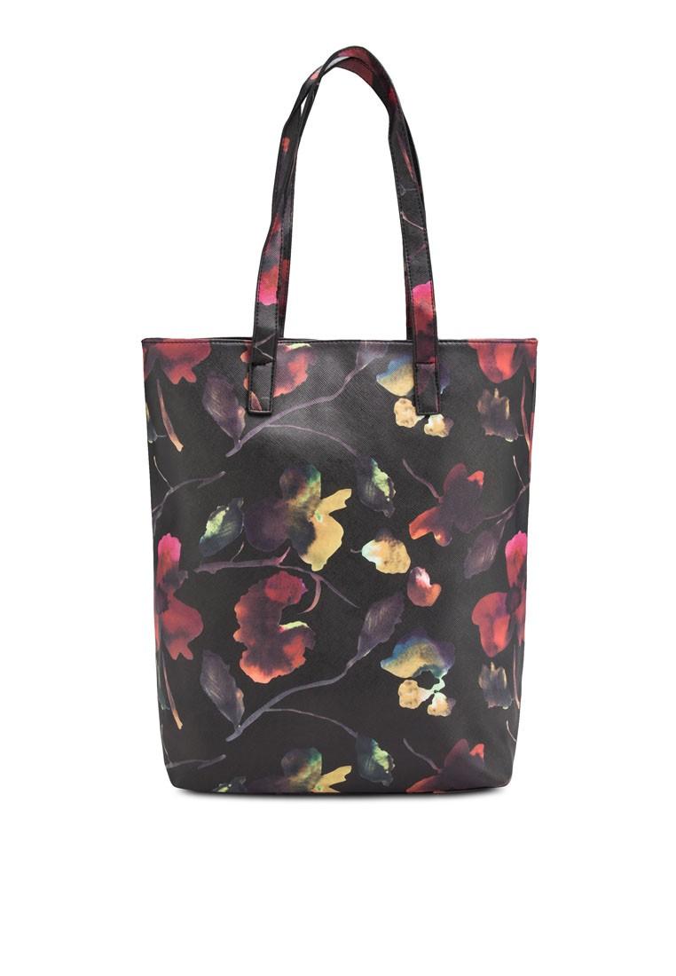 Floral Shopper Bag