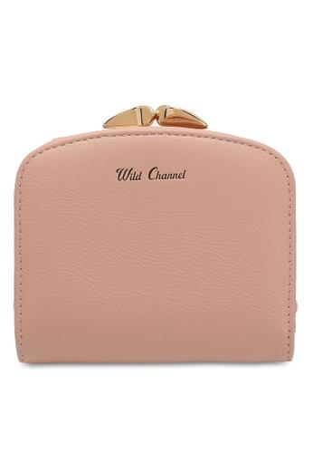 Wild Channel pink Clip Top Short Purse 7B5D7AC495766EGS_1