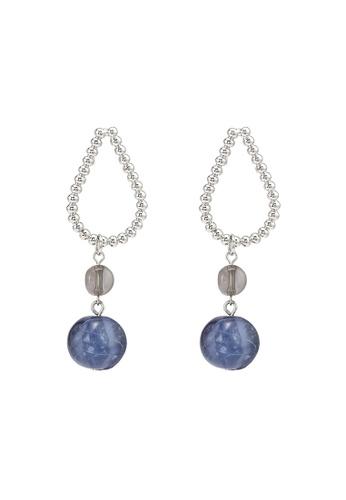 niko and ... blue Statement Earrings BDA6BAC50A1F14GS_1