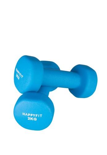 Happyfit blue HAPPYFIT DUMBBELL NEOPRENE 2KG (2PCS) - BLUE 3FDAEAC115B52BGS_1