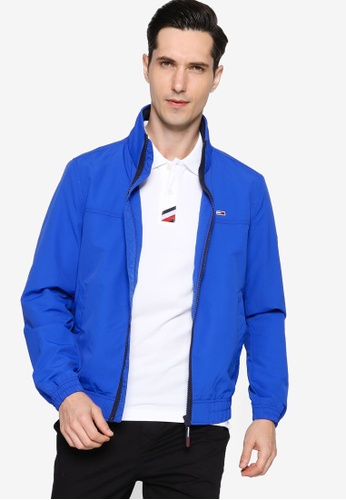 Tommy Hilfiger blue Tjm Essential Casual Bomber Jacket - Tommy Jeans EAEEFAA823C47BGS_1