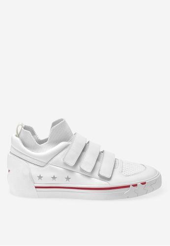 ASH white Neptune - White Strap Low-Top Sneakers F5961SHD69D571GS_1