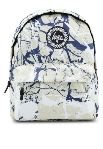 Just Hype beige Marble Backpack 2AC8FACC4BA132GS_1
