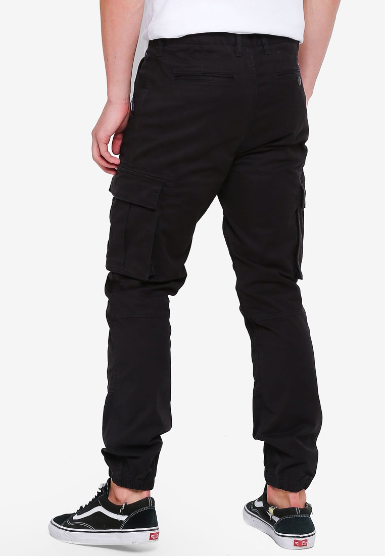 International Superdry Flight Trousers Grip Recruit Black Vulcan Z8AqrZnU